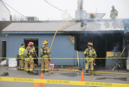 Fire Erupts Outside Village Deli on Kirkwood: Gallery and Employee Accounts