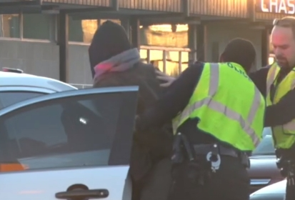Reclaim MLK Protest Ends in Two Arrests