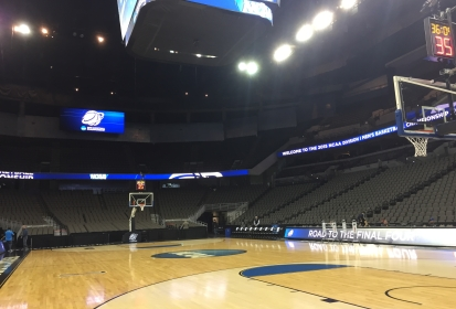 IU Basketball Players Talk to Media in Omaha Pre-Wichita State
