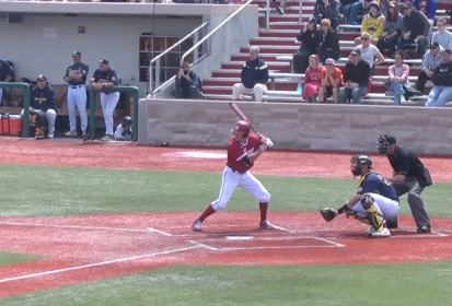 IU Baseball Struggles Against Michigan