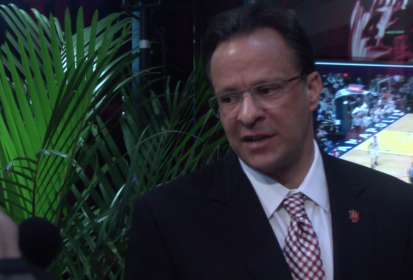 Tom Crean at Assembly Hall Renovation Groundbreaking Ceremony