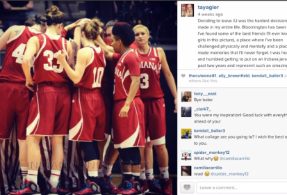 IU Women's Basketball Offseason Changes Take to Social Media