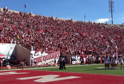 IU Football: Last Day of Open Practice for the 2015 Season