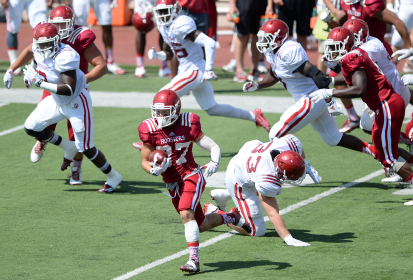 IU Football: Mitchell Paige Returns Punt for TD