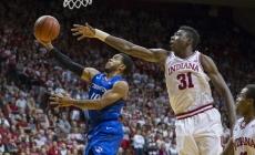 IU Basketball: Thomas Bryant Displays His Fierce, Passionate Play vs. Creighton
