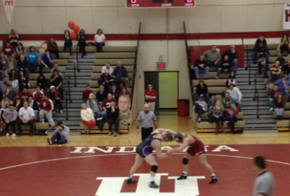 IU Wrestling Tough Match Against #7 Ohio State