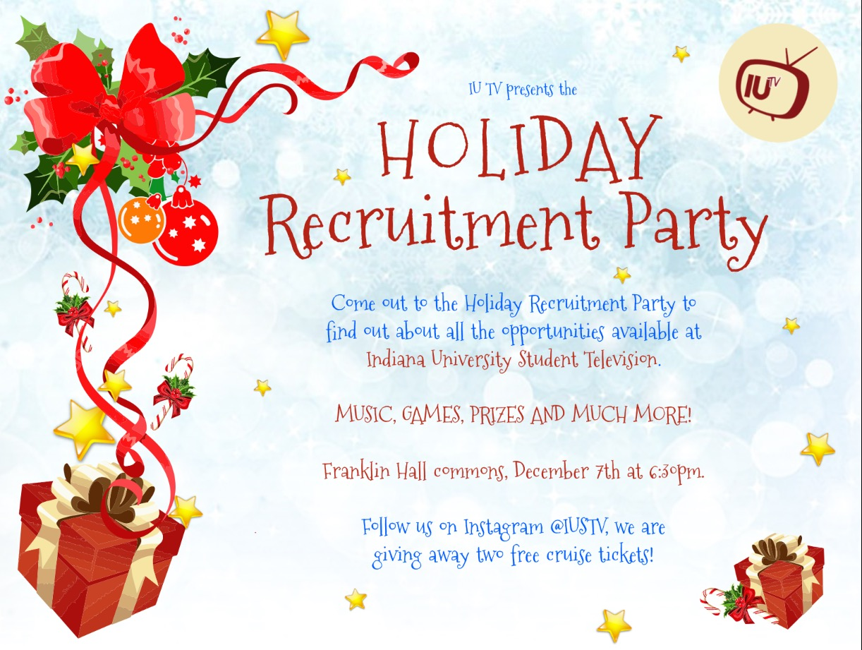 Holiday Recruitment Party